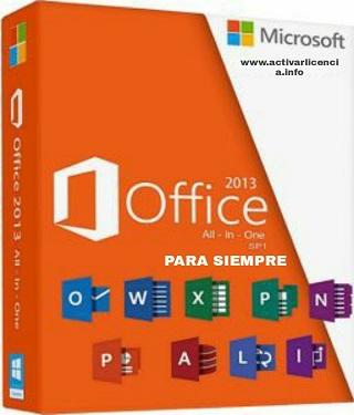 activar office 2013 para siempre