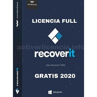 Activar Wondershare Recoverit full gratis 2021