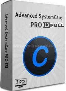Serial para activar Advanced SystemCare 13 Pro full