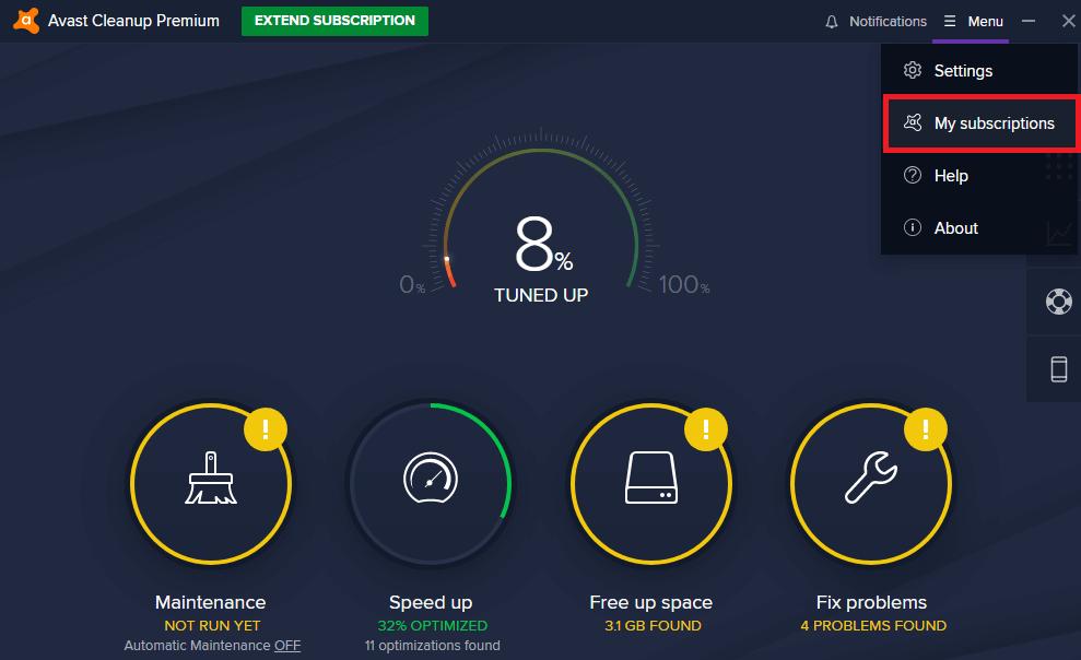 Avast Cleanup Premium descargar full