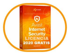 Activar Avast Internet Security [Códigos de activación 2021]
