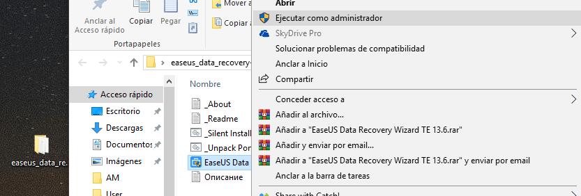 activar easeus data recovery