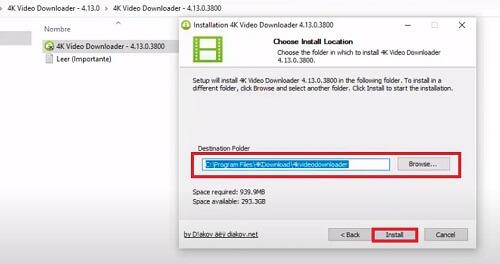 Licencia 4K Video Downloader