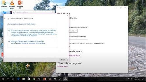 activar Touchpad en Windows 10