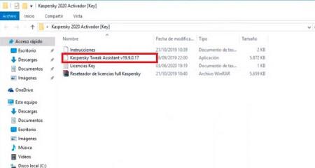 Activar licencia de Kaspersky gratis