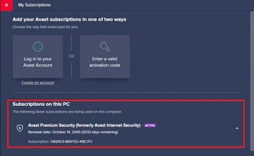 activar Avast Internet Security seriales