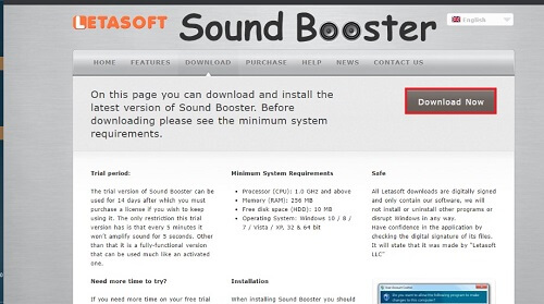 sound booster install download