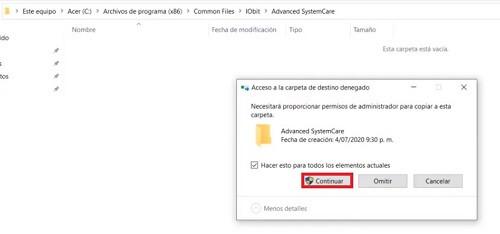 Advanced SystemCare licencia