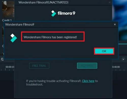 Activar licencia Filmora gratis 2020