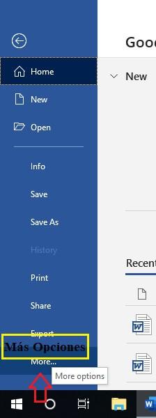 Activar Office 2016 en Windows paso 2