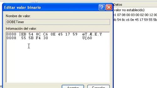 Windows XP sp3 KEYLOCAL MACHINE