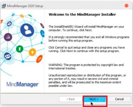 install MindManager Full 2020