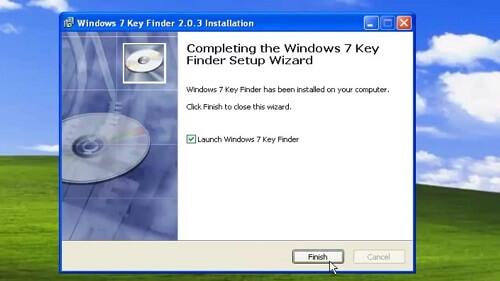 Windows 7 key Finder