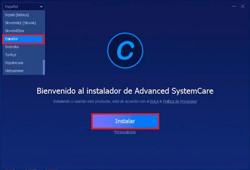 seriales Advanced SystemCare