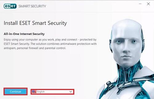 ESET Smart Security Premium install