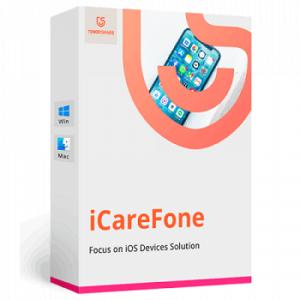 Descargar e instalar Tenorshare iCareFone Full crack [MEGA 2021]