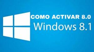 Claves para activar Windows 8 y 8.1 de por vida [licencia +crack]